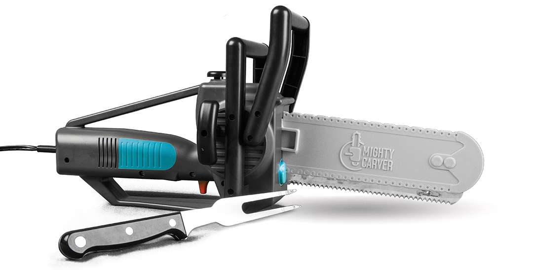 Mighty Carver Shows Electric Knife Benefits